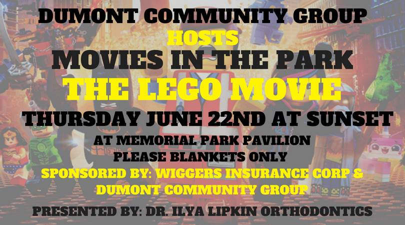 The Lego Movie in Memorial Park
